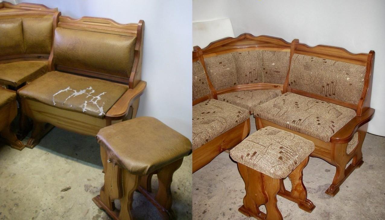 Переделка дивана своими руками до и после фото 749