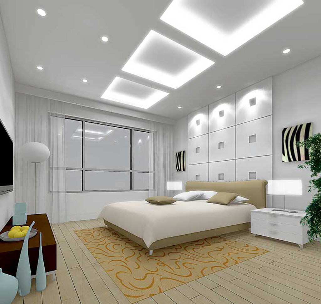 modern-bedroom-design-with-cool-ceiling