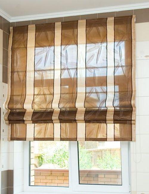римские шторы для кухни фото выбираем римские шторы на кухню 71