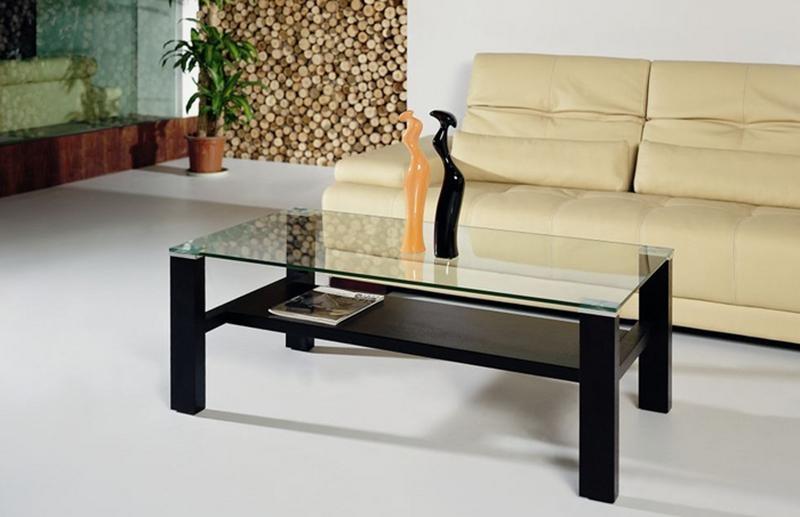 журнальный столик из дерева и стекла на что обратить внимание при