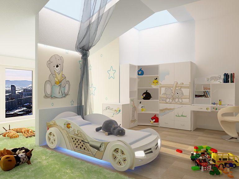комната для мальчика 7 лет фото дизайн детской комнаты с фотообоями