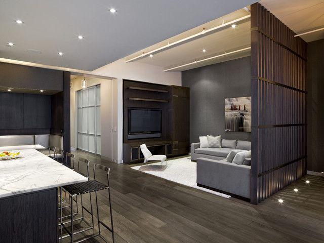 кухня совмещенная с гостиной в стиле лофт кухня гостиная в стиле