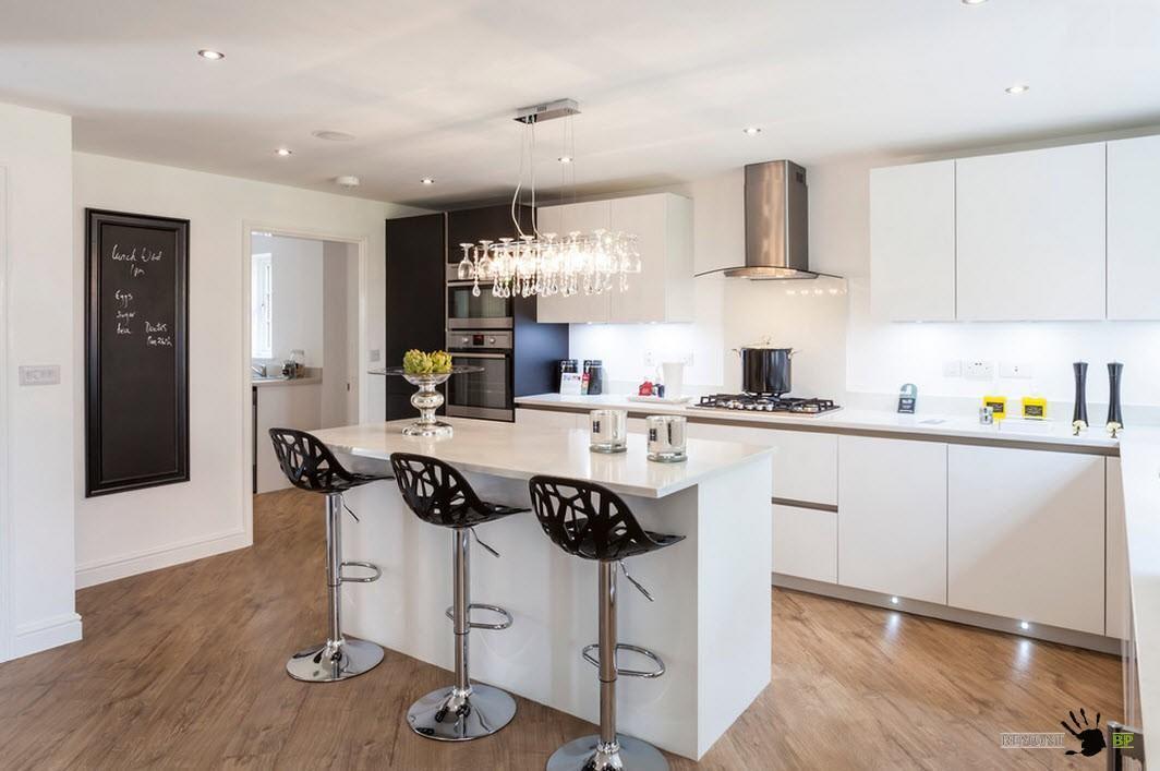 угловая кухня с островом фото дизайн фотографии и картинки кухонь с