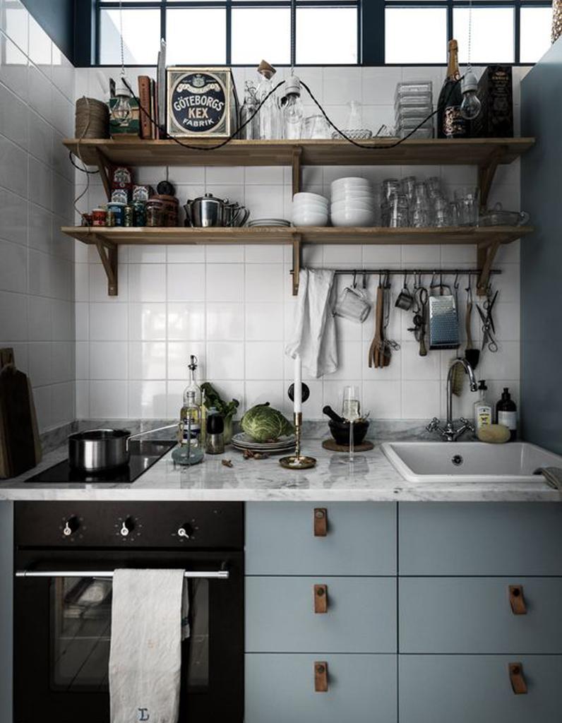 маленькая кухня в стиле прованс в хрущевке дизайн маленькой кухни в