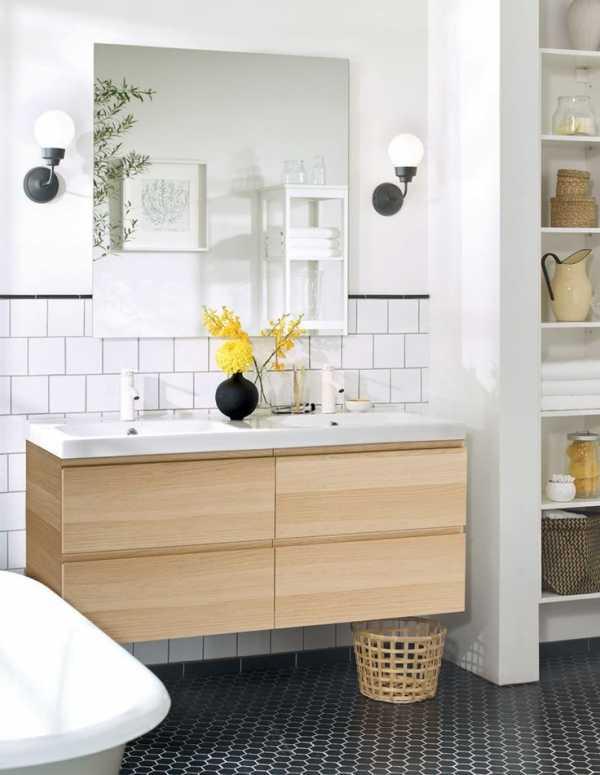 икеа дизайн ванной комнаты фото даже самая маленькая ванна может