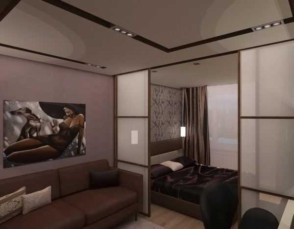комната гостиная гостиная и спальня в одной комнате как простое